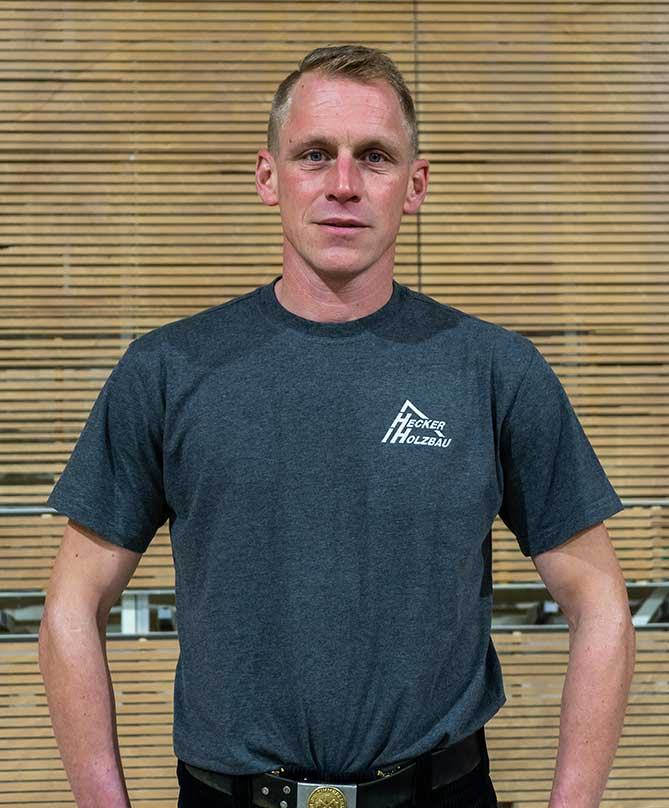 Mitarbeiter Hecker Holzbau - Christian Thiex