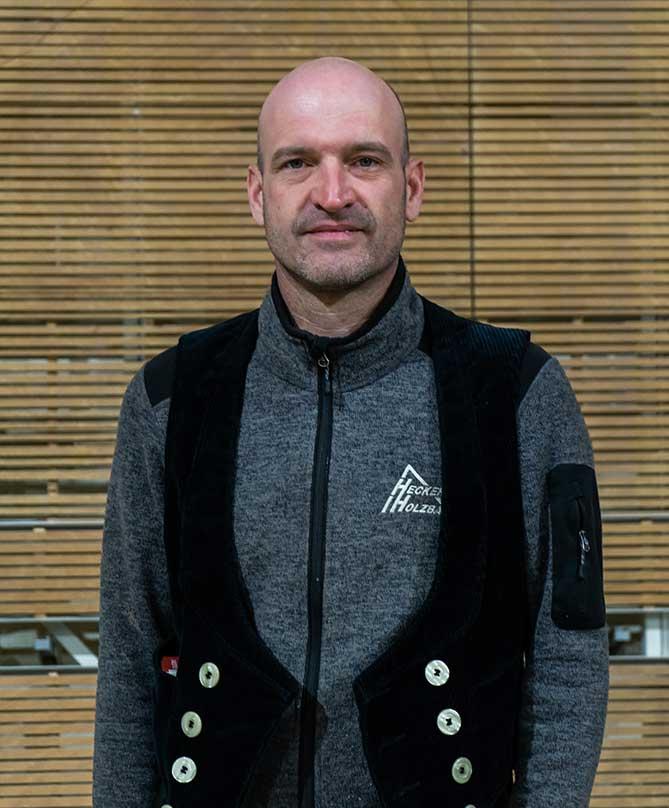 Mitarbeiter Hecker Holzbau - Markus Idesheim