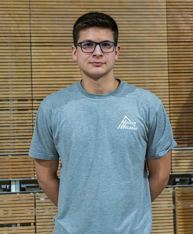 Mitarbeiter Hecker Holzbau - Luca Theis
