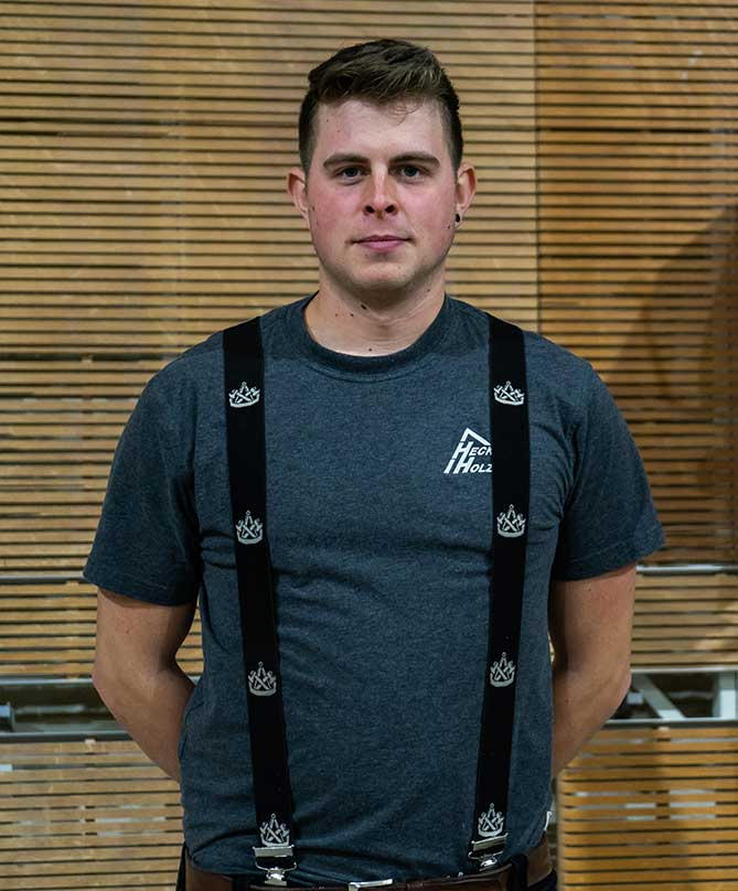Mitarbeiter Hecker Holzbau - Dennis Rühl