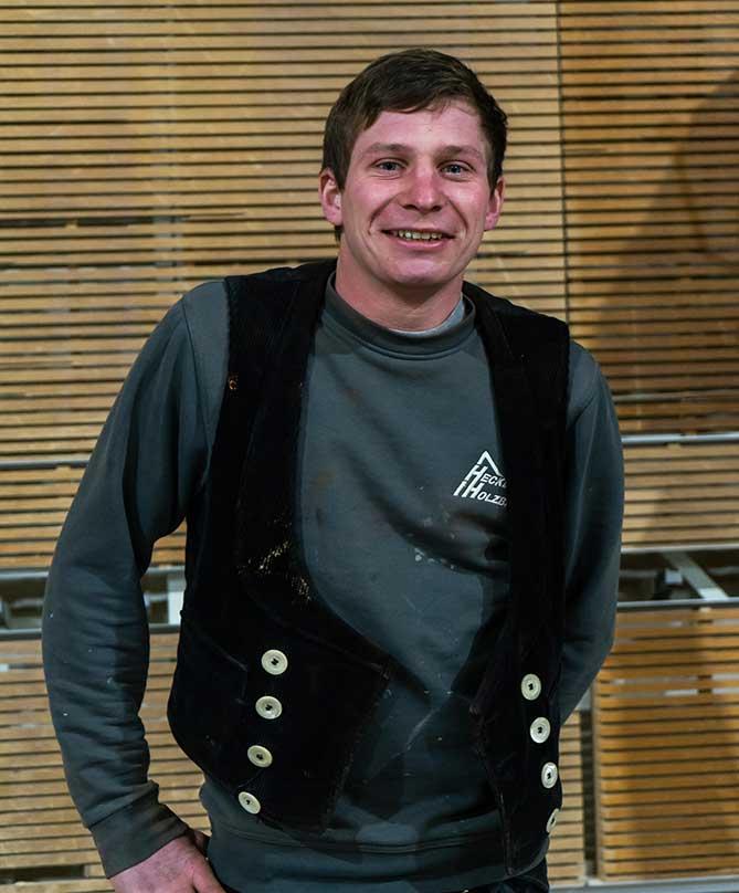 Mitarbeiter Hecker Holzbau - Clemens Neu