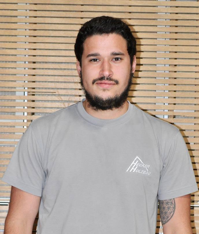 Mitarbeiter Hecker Holzbau - Julian Platte